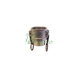 Camlock Reducción D - Acople Hembra - Rosca Hembra
