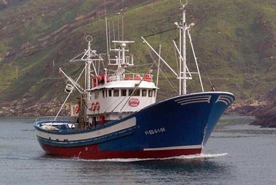 Embarcación de pesca