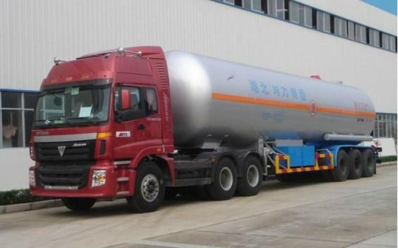 Camión cisterna para LPG