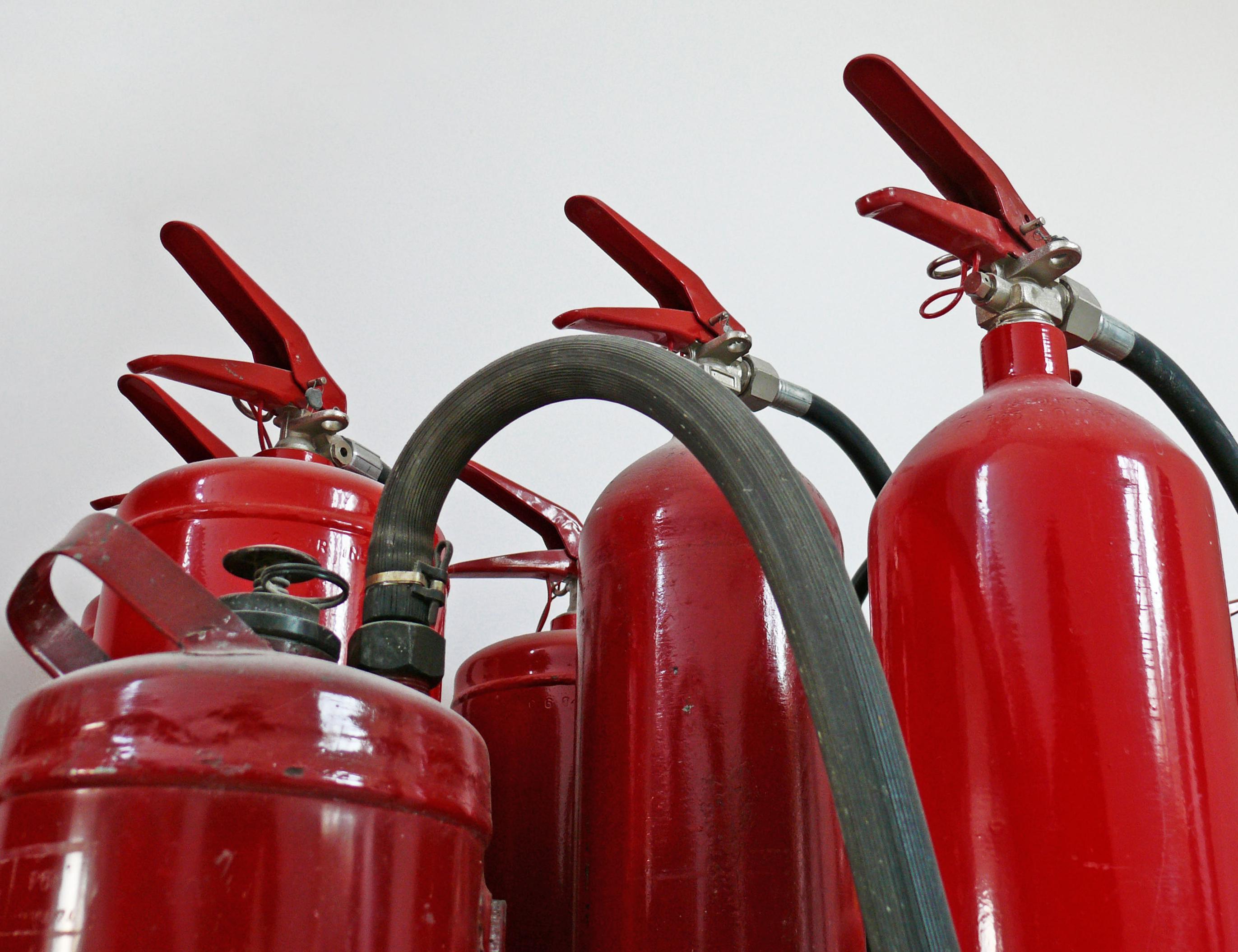 Manguera para extintores y carretes