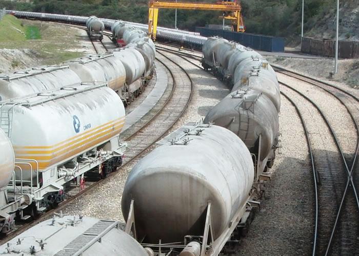 Descarga de vagones de cemento