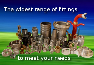 The widest range of fittings
